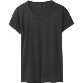 Prana Cozy Up SS T-Shirt Damen charcoal heather